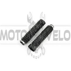 Гофры передней вилки (пара)   Zongshen, Lifan 125/150   PLT