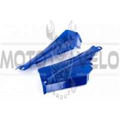 Пластик Active боковая пара на бардачок (синий) CX