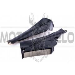 Пластик Active боковая пара на бардачок (черный) CX