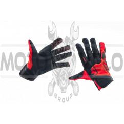 Перчатки THOR (черно-красные, size L)