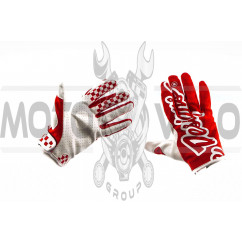 Перчатки TLD (красные, size XL)