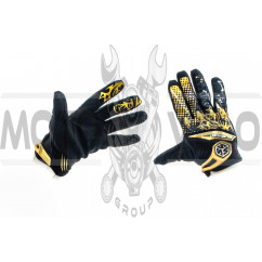 Перчатки (бежево-черные, size L) SCOYCO