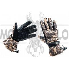 Перчатки SCOYCO (камуфляж, асфальт size M)