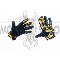 Перчатки (бежево-черные, size XL) SCOYCO