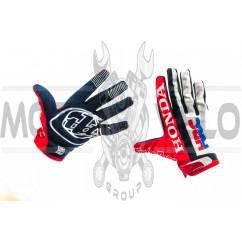 Перчатки TLD (красно-бело-черные, size L)