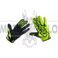 Перчатки TLD (зеленые, size L)