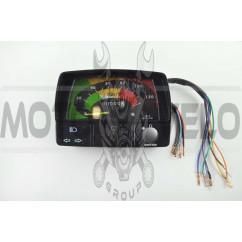 Панель приборов (в сборе) Delta (120км/ч, черная, индикатор передач) MANLE