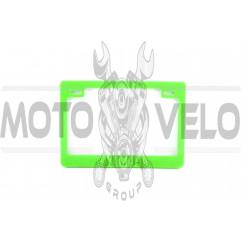 Рамка под номер (зеленая) YMH