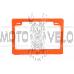 Рамка под номер (оранжевая) YMH