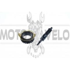 Ремкомплект привода спидометра   Delta   (шестерня, червяк)   KOMATCU   (mod.A)