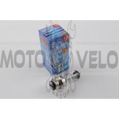 Лампа P15D-25-1 (1 ус) 12V 18W/18W (белая) (B-head) BEST (mod:A)