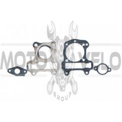 Прокладки цилиндра (набор) (полный) Honda DIO AF62 Ø38mm (паронит) AS