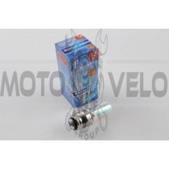 """Лампа P15D-25-1 (1 ус) 12V 50W/50W (хамелеон радужный) """"BEST"""" (mod:A)"""