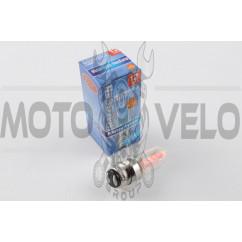 Лампа P15D-25-1 (1 ус) 12V 50W/50W (хамелеон розовый) BEST (mod:A)