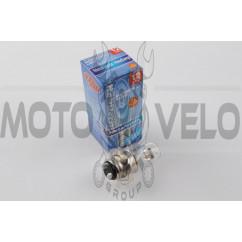 Лампа P15D-25-3 (3 уса) 12V 18W/18W (белый) BEST (mod:B)