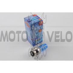 Лампа P15D-25-3 (3 уса) 12V 18W/18W (супер белая) BEST (mod:A)