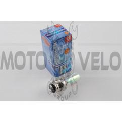 Лампа P15D-25-3 (3 уса) 12V 18W/18W (хамелеон радужный) BEST (mod:A)