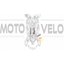 Поршень   Honda DIO ZX 65   .STD  (Ø44,00)   KOMATCU   (mod.A), компл.