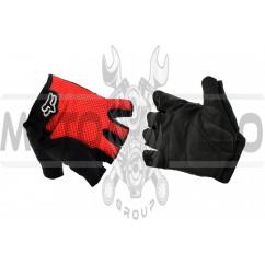 Перчатки без пальцев GLOVE (mod:Freeride, size:L, красные) FOX