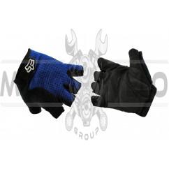 Перчатки без пальцев GLOVE (mod:Freeride, size:L, синие) FOX