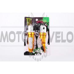 Подножки пассажирские   (mod:1, желтые)   MONSTER ENERGY