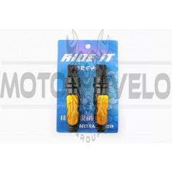 Подножки пассажирские   (mod:monster energy)   (желтые)   RIDE IT