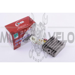 Реле зарядки Zongshen, Lifan 125/150 (3+3 провода) JIANXING