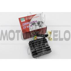 "Реле зарядки Zongshen, Lifan 200 (3+3 провода) ""JIANXING"""