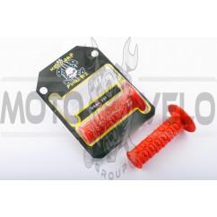 Ручки руля (mod:1, красные) MOTOGRIP