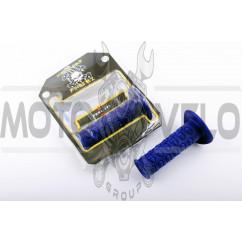 Ручки руля (mod:1, синие) MOTOGRIP