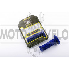 Ручки руля (mod:2, синие) MOTOGRIP
