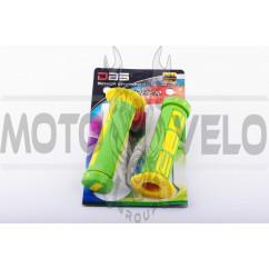 Ручки руля (mod:1, зелено-желтые) DBS