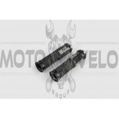 Ручки руля с алюм. отбойником (черные) (mod:Suzuki) GJCT