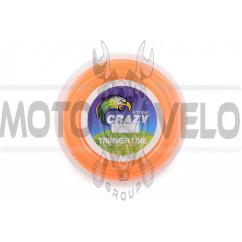 Леска мотокосы Ø2,4mm, 15 метров (круглая, оранжевая) ZHGT