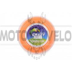 Леска мотокосы Ø2,4mm, 60 метров (звезда, оранжевая) ZHGT