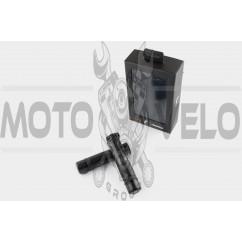 Ручки руля карбон с алюм. отбойником (черные) RIZOMA