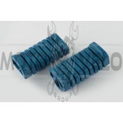 Резинки подножек водителя Delta (синие) XJB