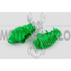 Пыльники резиновые на ручки выжимные (универсальные, зеленые) XJB
