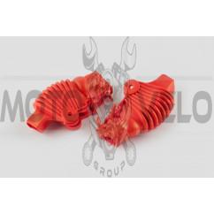 Пыльники резиновые на ручки выжимные (универсальные, красные) XJB