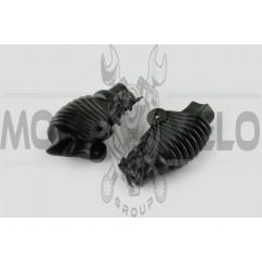 Пыльники резиновые на ручки выжимные (универсальные, черные) XJB
