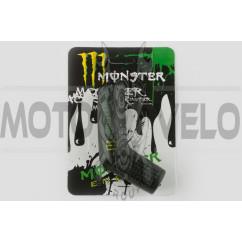 Резинка заводной ножки MONSTER ENERGY (универсальная, черная) XJB