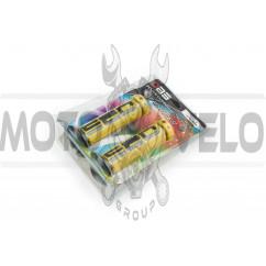 Ручки руля (mod:1, желто-черные) DBS (#YMBT)