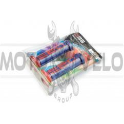 Ручки руля (mod:1, сине-красные) DBS (#YMBT)