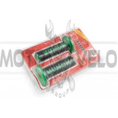Ручки руля (черно-зеленые) HND