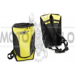 Рюкзак ALPINESTARS (mod:B-12, желтый) (48см*29см*25см)