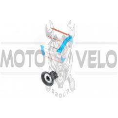 Мембрана карбюратора (с заслонкой) 4T GY6 50 (с ушками) CK