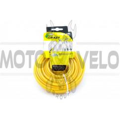 Леска мотокосы Ø4,0mm, 60 метров (круглая, желтая)