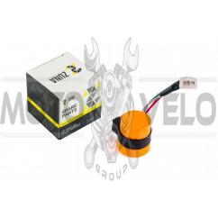 Реле поворотов 4T GY6 50-150 (3 провода, В-class) (оранжевое) ZUNA