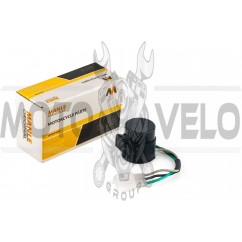 Реле поворотов 4T GY6 50-150 (3 провода, оранжевое) MANLE