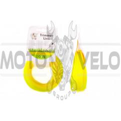 Леска мотокосы Ø2,4mm, 15 метров (звезда, желтая) BEST